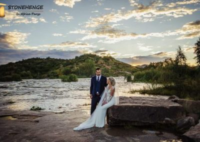 Pienaar Wedding Stonehenge in Africa 20